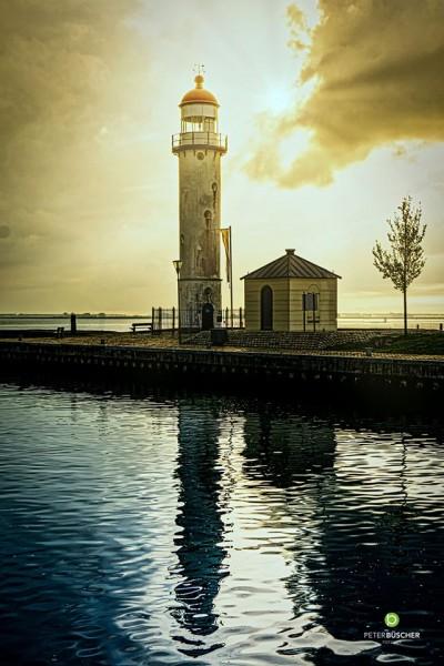 Der Leuchtturm 40x60 Acrylglas